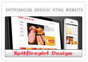 Spitfiregirl Design Website
