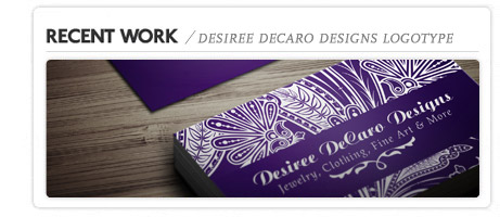 Desiree DeCaro Corporate Identity