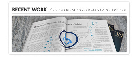 Voice Of Inclusion magazine